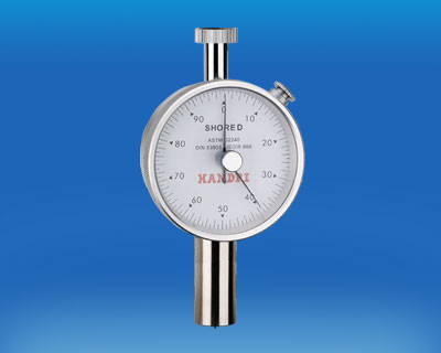 SHORE D Durometer(Peak hold)